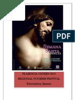 Programa Semana Santa de Plasencia 2013.Deutch