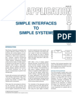 Simple Interfaces to Simple Systems