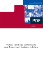 Practical Handbook on Developing Local Employment Strategies in Ireland