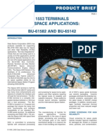 1553 Terminals for Space Applications