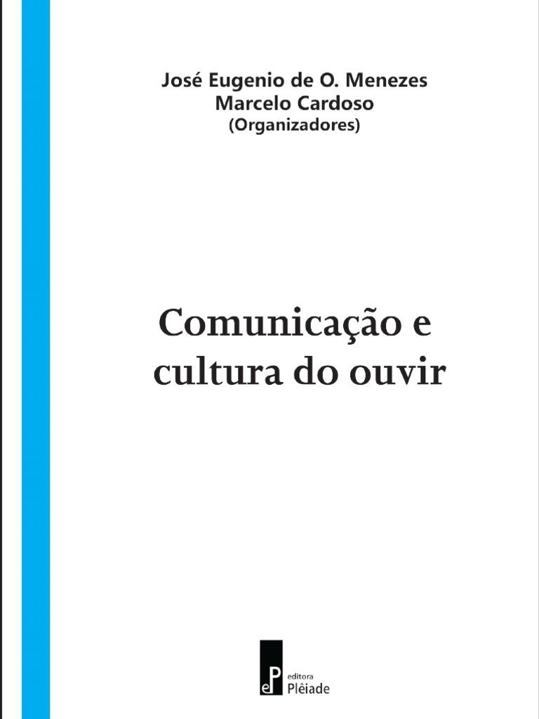 Comunicao e cultura do ouvirpdf fandeluxe Gallery