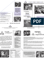 VIA One- and Two-Year Volunteer Program Brochure 2007