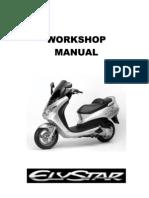 Peugeot Elystar Workshop Manual