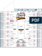 Lenn Robbins' NCAA tournament bracket