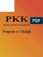 PKK program ve tüzüğü