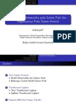 2-3-Permodelan Matematika Pada Sistem Fisik Dan Kegunaannya Pada Sistem Kontrol