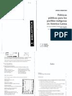 Meentzen Angela_Politicas Publicas Para Los Pueblos Indigenas_introduccion_cap1_4 Al 6