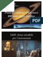 Pianeti e Sistemi Planetari