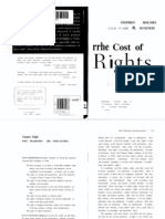 Sunstein, Cass; Holmes, Stephen - The Cost of Rights - 2ª parte