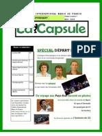 LA CAPSULE - Mai 2008