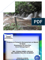 Hidrogeologia en Costa Rica