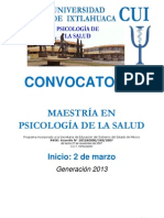 Mps Convocatoria Marzo 2013