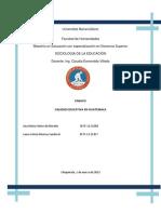 Calidad Educativa en Guatemala[1]