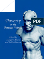 Poverty in the Roman World. Ed.M.atkins, 2006