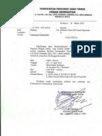 Dody Firmanda 2013 - Penyusunan Panduan Praktik Klinis (Kasus dan Prosedur Tindakan) Rumah Sakit se Jawa Timur 10-11 April 2013