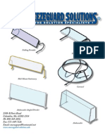 Sneeze Guard Solutions Catalog