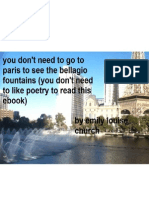 you don't need to go to paris to see the bellagio fountains (you don't need to like poetry to read this ebook)