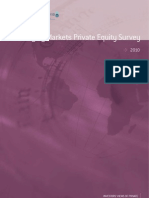 Emerging Markets Private Equity Survey (Coller Capital, April 2010)