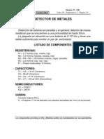 Detector de metales. Alimentación 9 Vcc-338