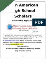 MAAAB 2013 Scholarship Form