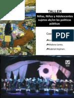 Power Taller NNyA sujetos deen las políticas públicas