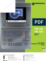 Heidenhain 426 430 TNC Manual 2001