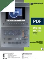 Heidenhain 426 430 TNC Manual 2001