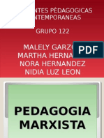 presentacion pedagogica marxista
