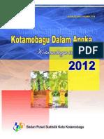 Kotamobagu Dalam Angka 2012