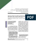 Reforma y Modernización de Edo C R Justo Aguilar