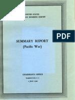USSBS Summary Report Pacific War