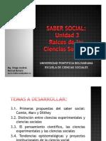 Unidad 3 Raíces de las Ciencias Sociales (avances)