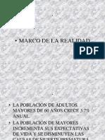 Adultos Mayores Marco Realidad