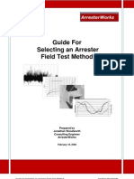 Arrester Facts 002c - Guide for Selecting an Arrester Field Test Method