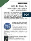 335 - Sélections Prix du Salon Livres & musiques de Deauville