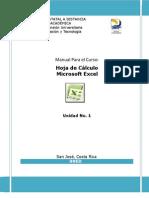 Unidad 1 Excel