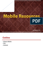 Mobile Resources