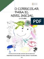 Diseño Curricular Nivel Inicial 2011