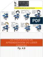 Os processos de aprendizagem do líder