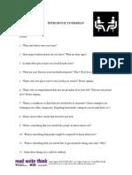 Introduce Yourself PDF