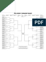 2013 NCAA women's tournament bracket