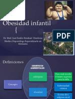 Obesidad infantil presentacion