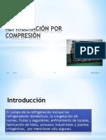 Ciclo de refrigeración por la compresión de un EVAPORADOR