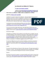 Información para Invertir en Bolsa de Valores.doc