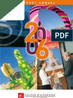 Caisse d'Épargne de Flandre - Rapport Annuel 2006