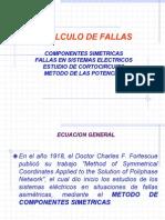 Fallas en redes eléctricas y cálculos de cortocircuitos