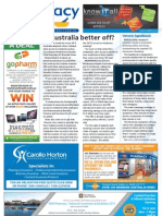 Pharmacy Daily for Tue 19 Mar 2013 - Pharmacy product focus, Top Australian killers, Is Australia better off, and much more...