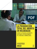 Proyecto Para El Aborto en Nicaragua