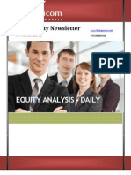 Equity Analysis for 19-March