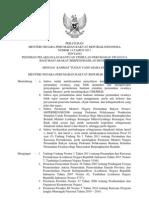Permenpera No 14 Tahun 2011 Pedoman Bantuan Stimulan Perumahan Swadaya